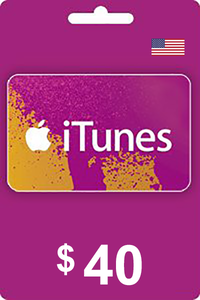 iTunes Gift Card 40 USD