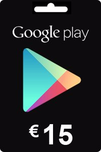 Google Play Gift Card 15 EURO (€)