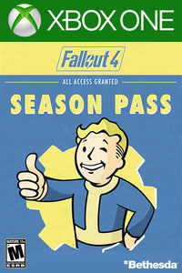 Fallout 4 Season Pass DLC Xbox One