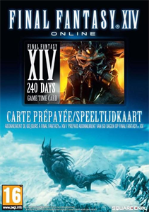 Final Fantasy XIV 240 Days Game Time Card