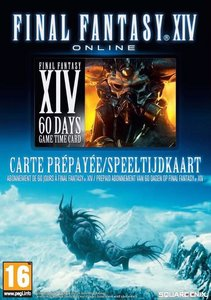 Final Fantasy XIV 60 Days Game Time Card
