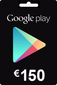 Google Play Gift Card 150 EURO (€)
