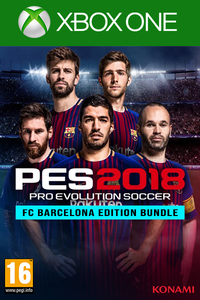 PES 2018 - FC Barcelona Edition Bundle Xbox One