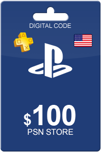Playstation Network Card 100 USD