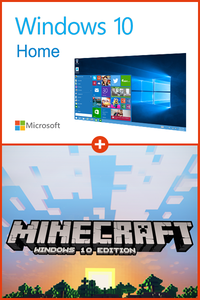 Windows 10 Home + Minecraft Windows 10 Edition PC