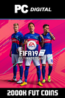 FIFA 19 - 2000k FUT Coins (Comfort Trade) PC