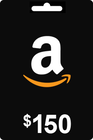 Amazon Gift Card 150 USD