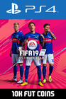 FIFA 19 - 10k FUT Coins (Comfort Trade) PS4