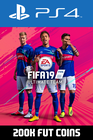 FIFA 19 - 200k FUT Coins (Comfort Trade) PS4