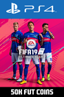 FIFA 19 - 50k FUT Coins (Player Auction) PS4