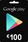 Google Play Gift Card 100 EURO (€)