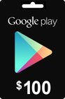 Google Play Gift Card 100 USD ($)