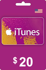 iTunes Gift Card 20 USD