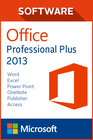 Microsoft Office Pro Plus 2013 - 1 user PC