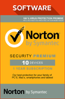 Norton Security Premium 3.0 / 1 år / 10 enheter /  25 GB / Nordiska