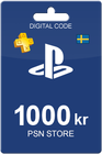 PlayStation Network Card 1000 SEK
