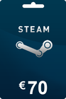 Steam Gift Card 70 EUR