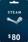 Steam Gift Card 80 USD
