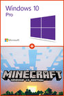 Windows 10 Pro + Minecraft Windows 10 Edition PC